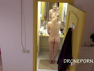 Sweet teen - Spy cam at home