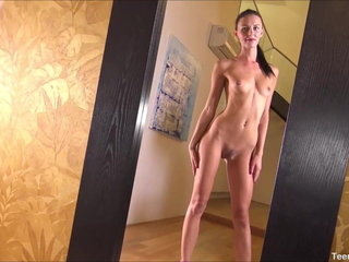Teenie Jerk With Sex Plaything For The First-ever Time