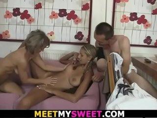Family gang-bang orgy