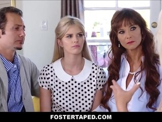 Petite Blond Teenager Foster Daughter-in-law With Braces Megan Holly Family Treatment 3 way With Big Boobs MILF Stepmother Syren De Mer And Father