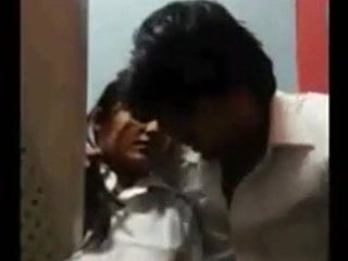 Desi team of two sexual congress down cyber cafe