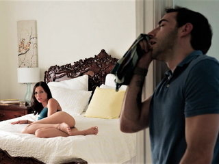 Stepsister Prerequisites Him Masturbating With Her Panties