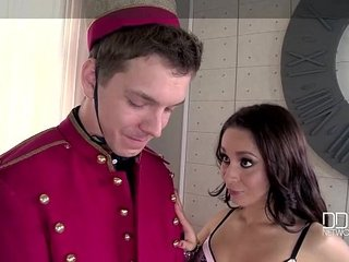 DDFNetwork - Munificent Russian Stunner Ultra Hot Double Intensively