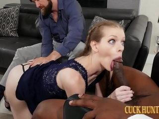 Teen Stepdaughter Nym Fleurette Minded Involving A Chunky Malicious Blarney Creampie